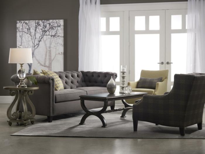 moderne sofas cheserfield sofa wohnzimmer einrichten möbel