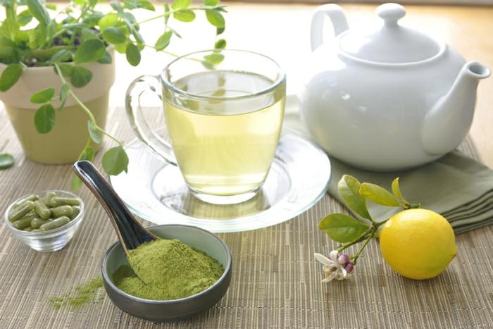 moringa pulver gesund tee zubereiten