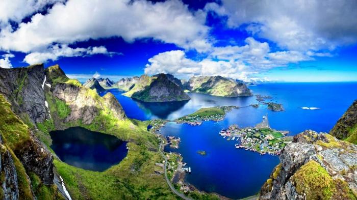 norwegen fjorde lofoten