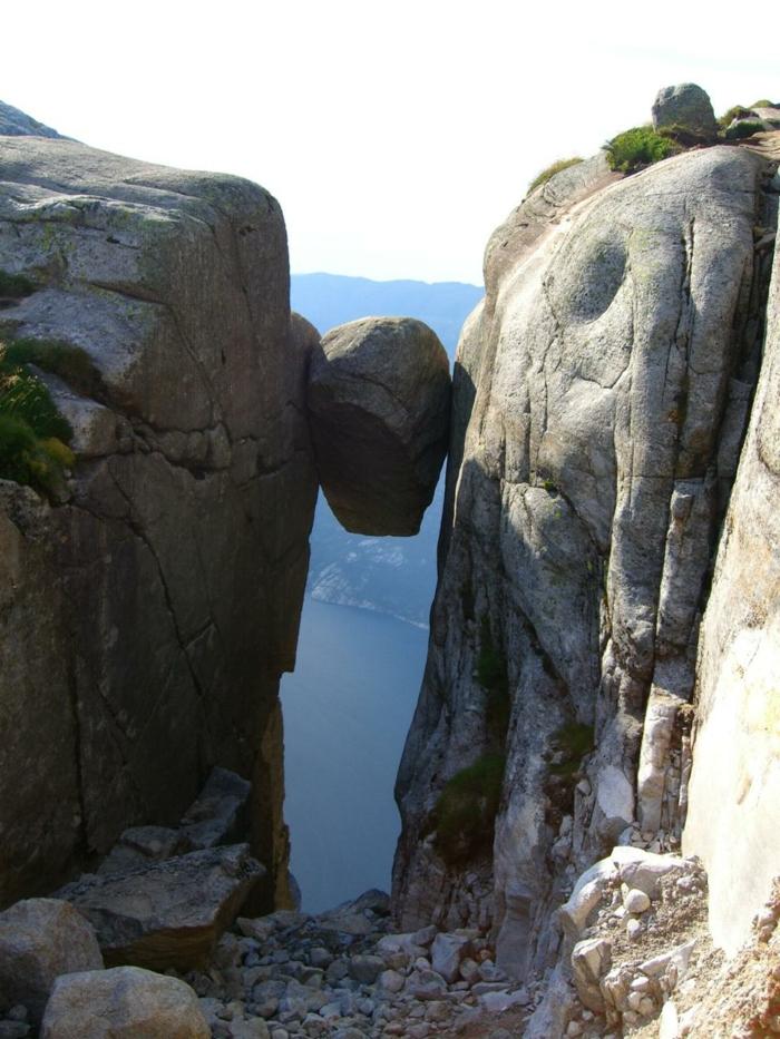 norwegen fjorde lycefjorden