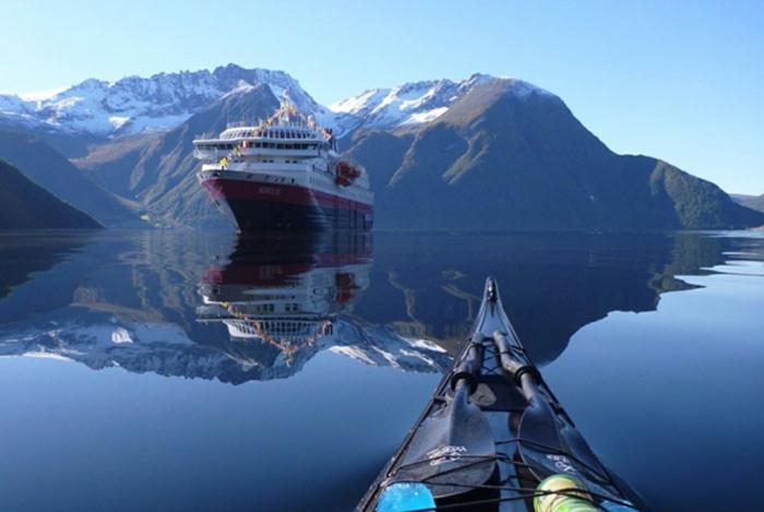 norwegen fjorde schiff boot