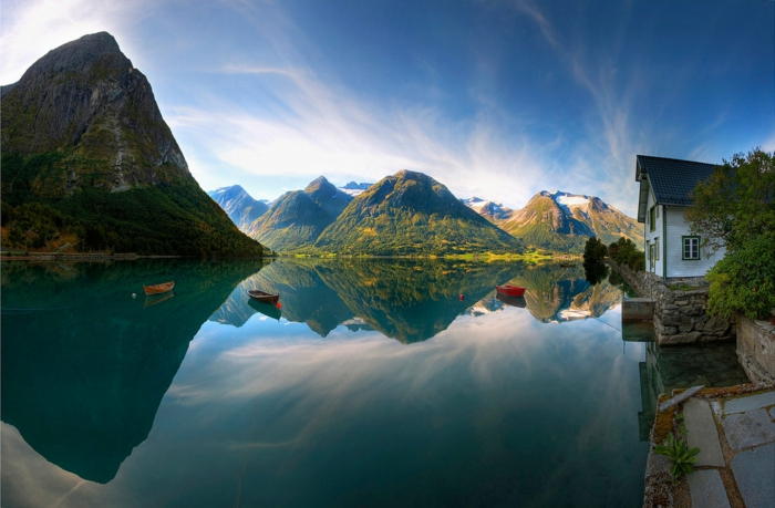 norwegen fjorde traum urlaub wasser spiegelung