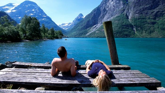 norwegen fjorde wasser