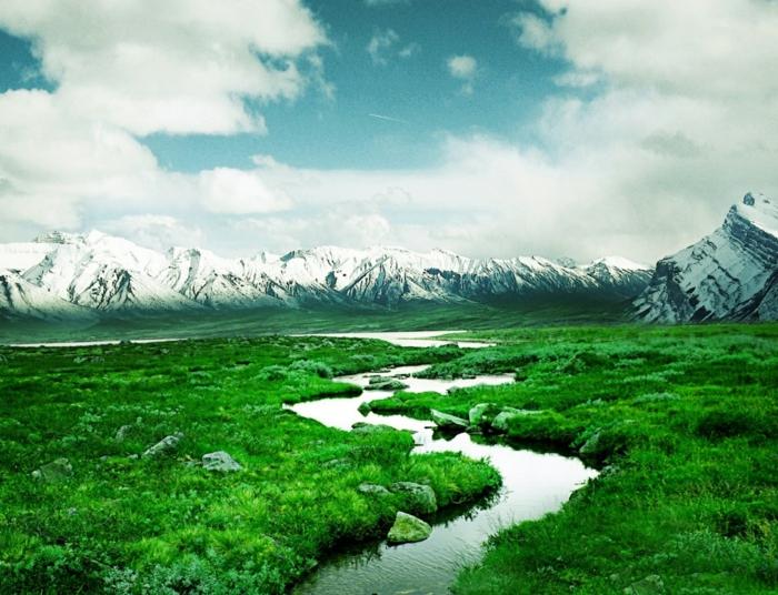 norwegen fjorde weiss gruen