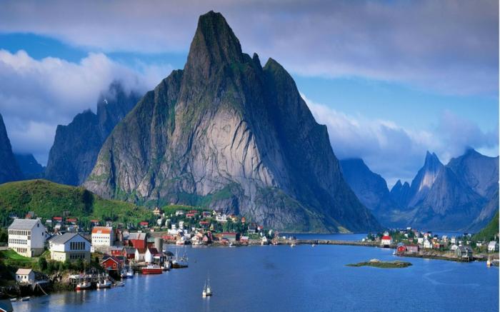norwegische fjorde atemberaubend