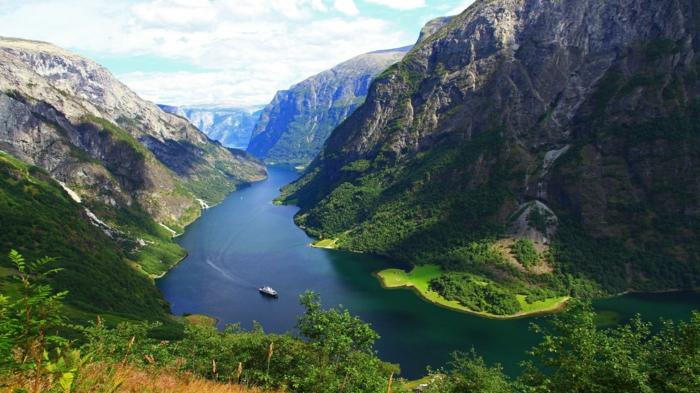 norwegische fjorde bildhuebsch