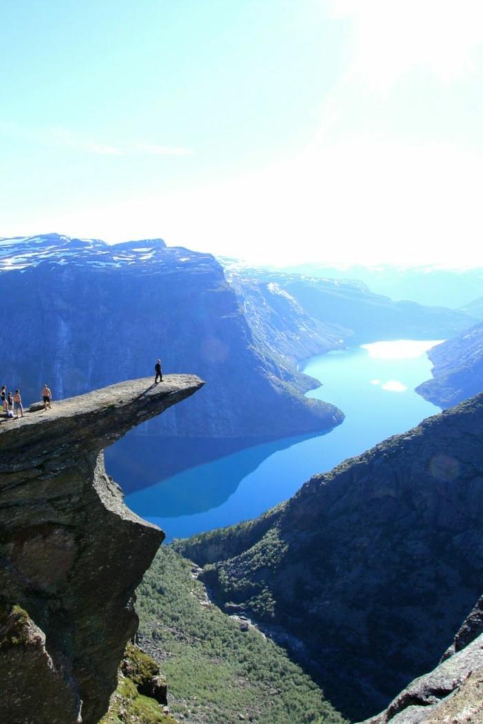 norwegische fjorde freude