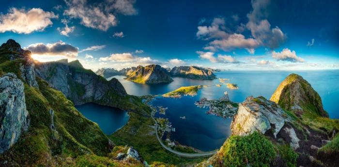 norwegische fjorde fruehling
