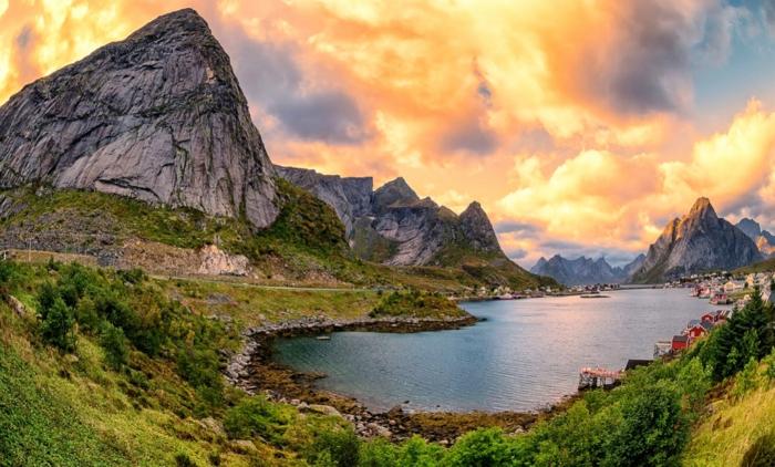 norwegische fjorde 66 magische aufnahmen aus dem norden. Black Bedroom Furniture Sets. Home Design Ideas