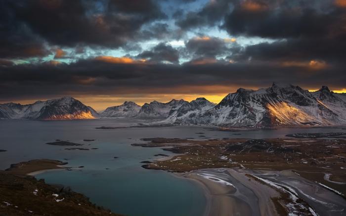 norwegische fjorde lofoten