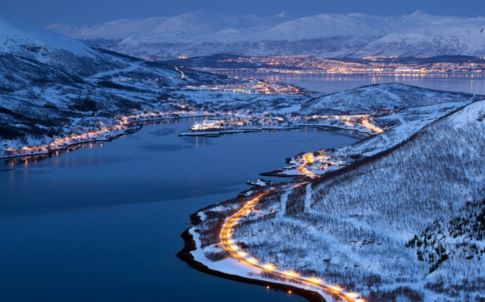 norwegische fjorde nachtaufnahmen