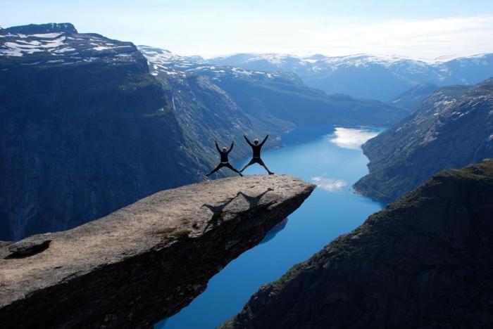 norwegen fjorde natur sehr schoen