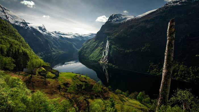 norwegen fjorde romantisch