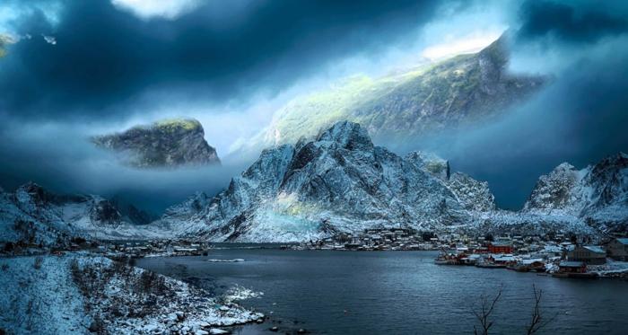norwegen fjorde ufer magisch