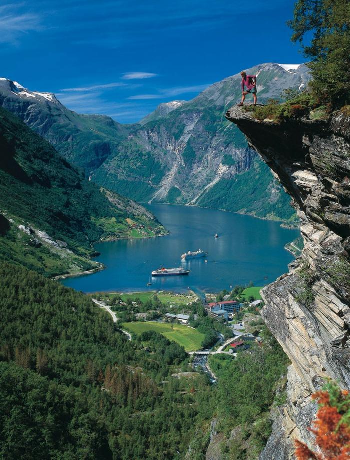 norwegen fjordee wANDERN TOURISMUS