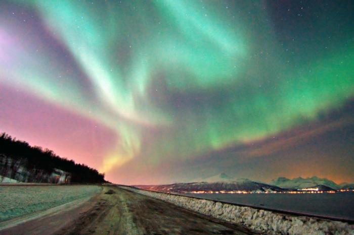 norwegen fjorde winter fjord