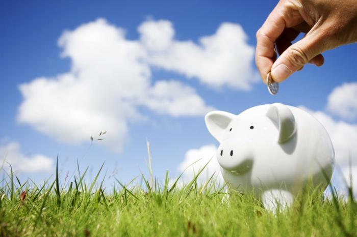 positives denken lernen geld sparen natur spaziergang