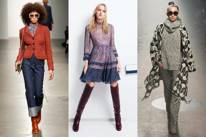 retro kleider herbst damenmode 2015 winter tendenzen