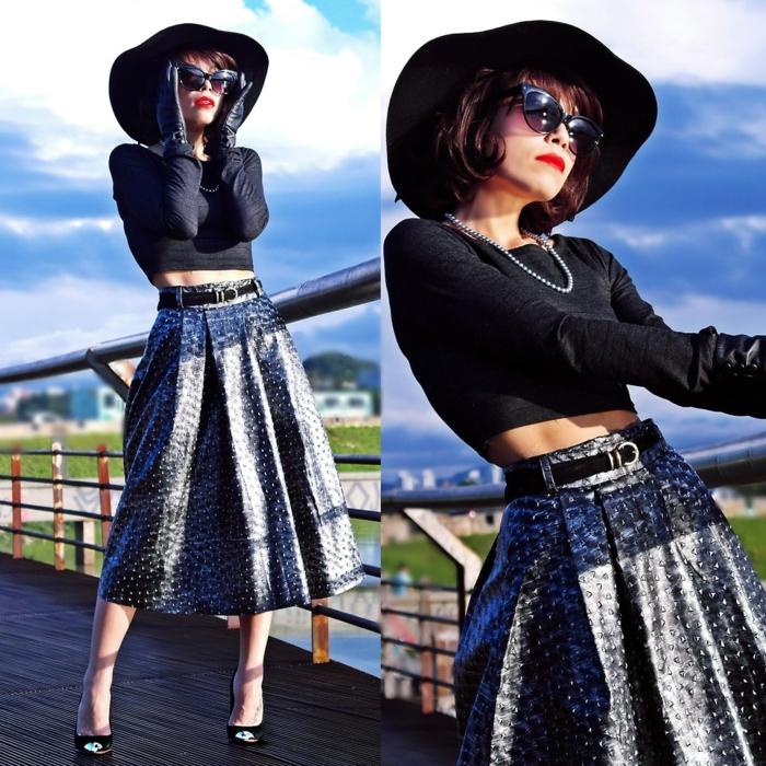 retro kleider herbst damenmode 70er fashion tendenzen