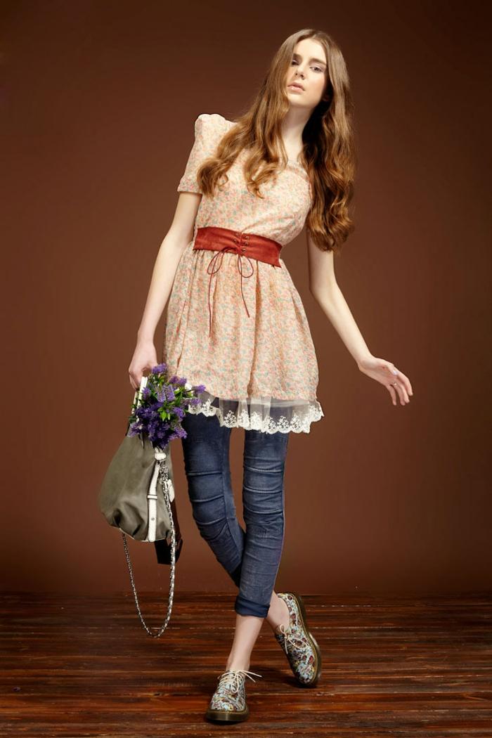 retro kleider herbst damenmode mädchen trends