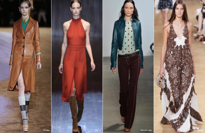 retro kleider sommer damenmode haute couture 2015