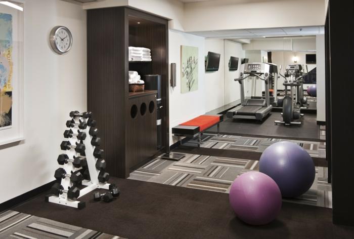 Fitnessraum zu hause gestalten  Innendesign und Sport - Wie kann man diese kombinieren?