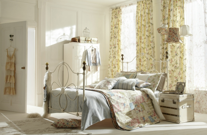 shabby chic m bel sorgen f r eine dramatische. Black Bedroom Furniture Sets. Home Design Ideas