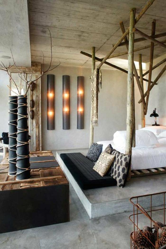 66 schlafzimmergestaltung ideen f r ihren gesunden schlaf - Deco chambre zen nature ...