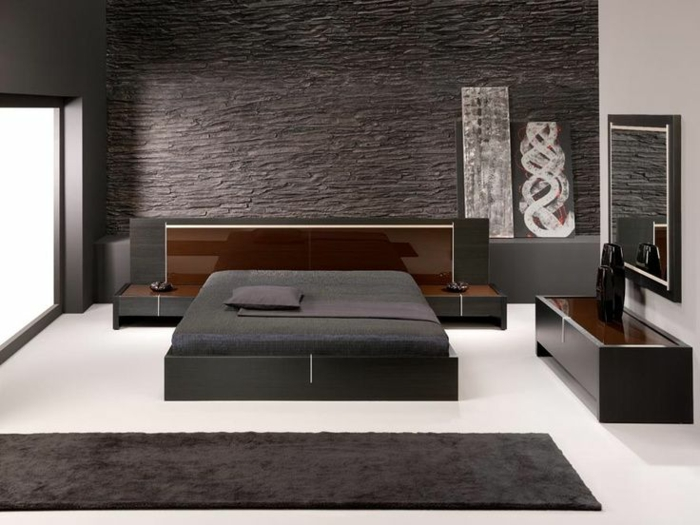 66 schlafzimmergestaltung ideen f r ihren gesunden schlaf. Black Bedroom Furniture Sets. Home Design Ideas