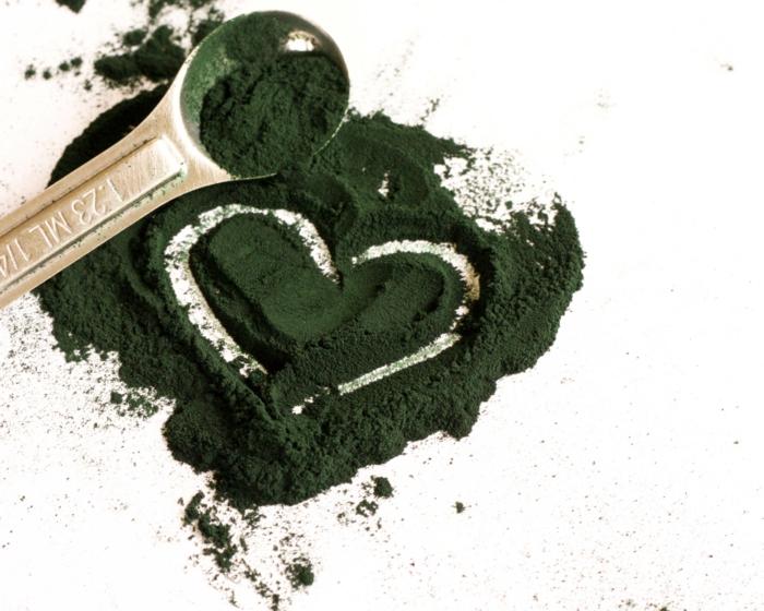 spirulina algen gesund herz