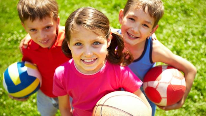 sportarten für kinder jungen mädchen kindersport auswählen