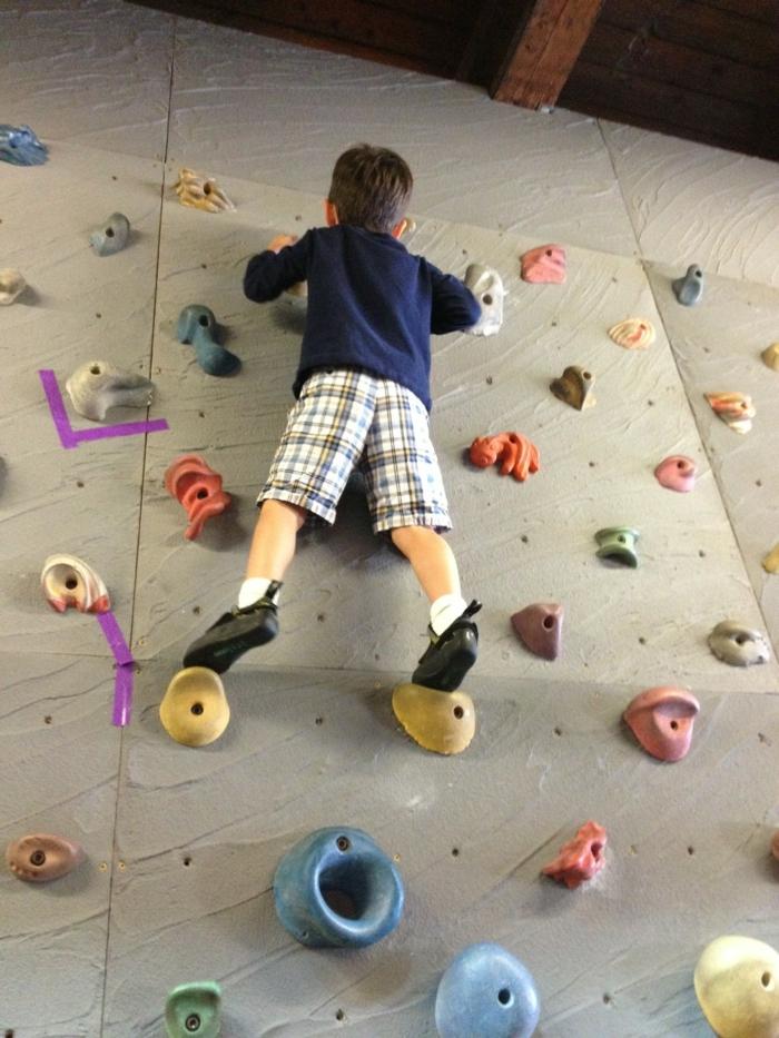 sportarten für kinder kindersport ideen klettern