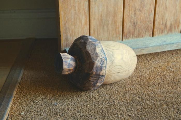 Türstopper nähen wandtürstopper sack türpufferr edelstahl eichel