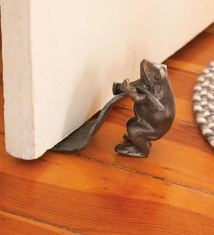 Türstopper nähen wandtürstopper sack edelstahl frosch