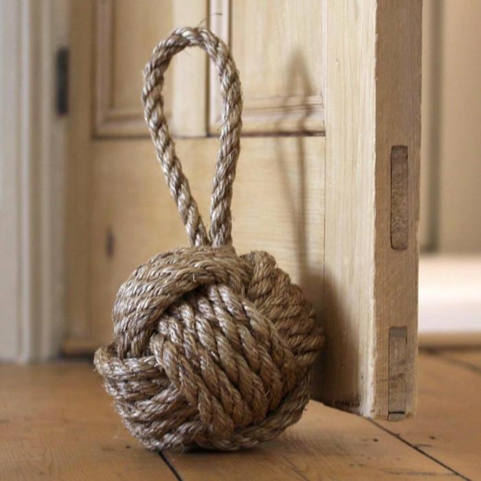 Türstopper nähen wandtürstoppersack edelstahl türpuffer garn wolle nachgemacht