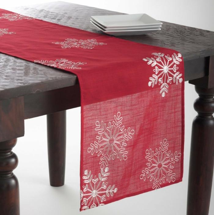 Tischläufer Weihnachten - mehr als grün, rot und gold