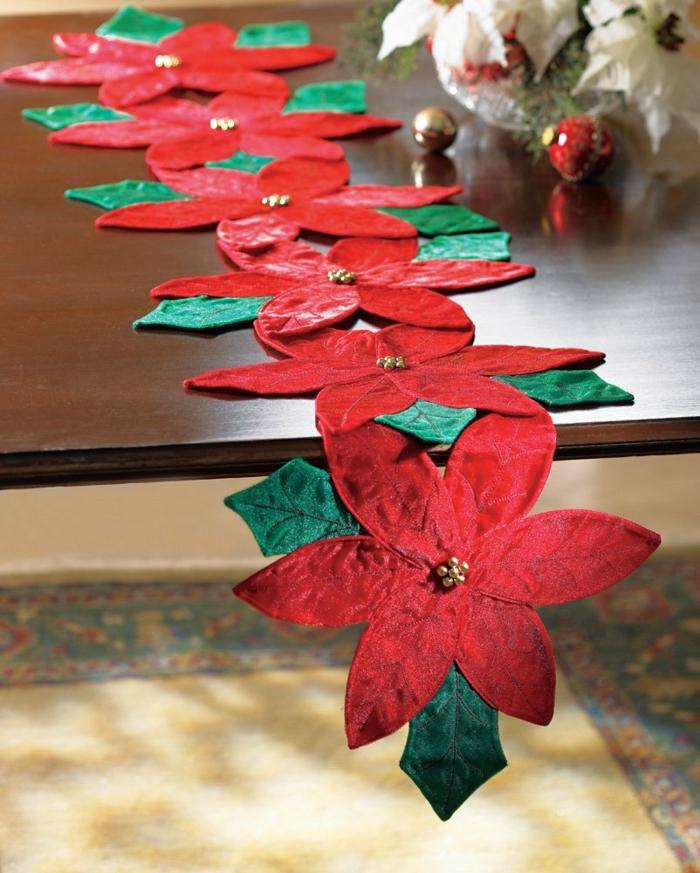 tischläufer weihnachten weihnachtsstern element