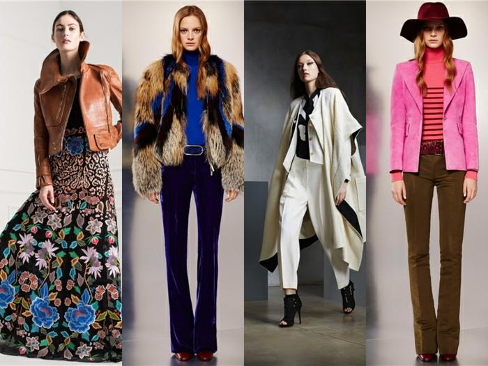 vintage kleider herbst damenmode 2015 fashion tendenzen