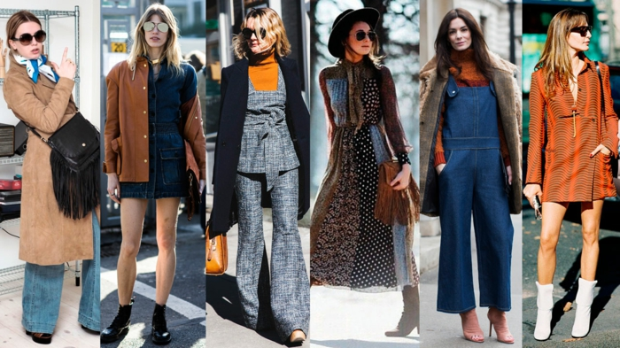 vintage kleider herbst damenmode 2015 street style