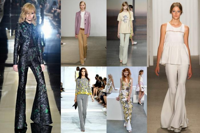 vintage kleider herbst damenmode 70er trends
