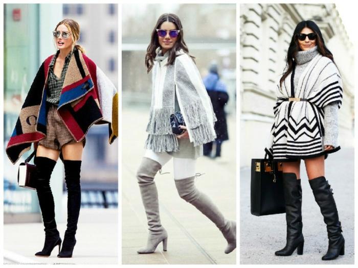 vintage kleider herbst winter 2015 tendenzen hohe stiefel