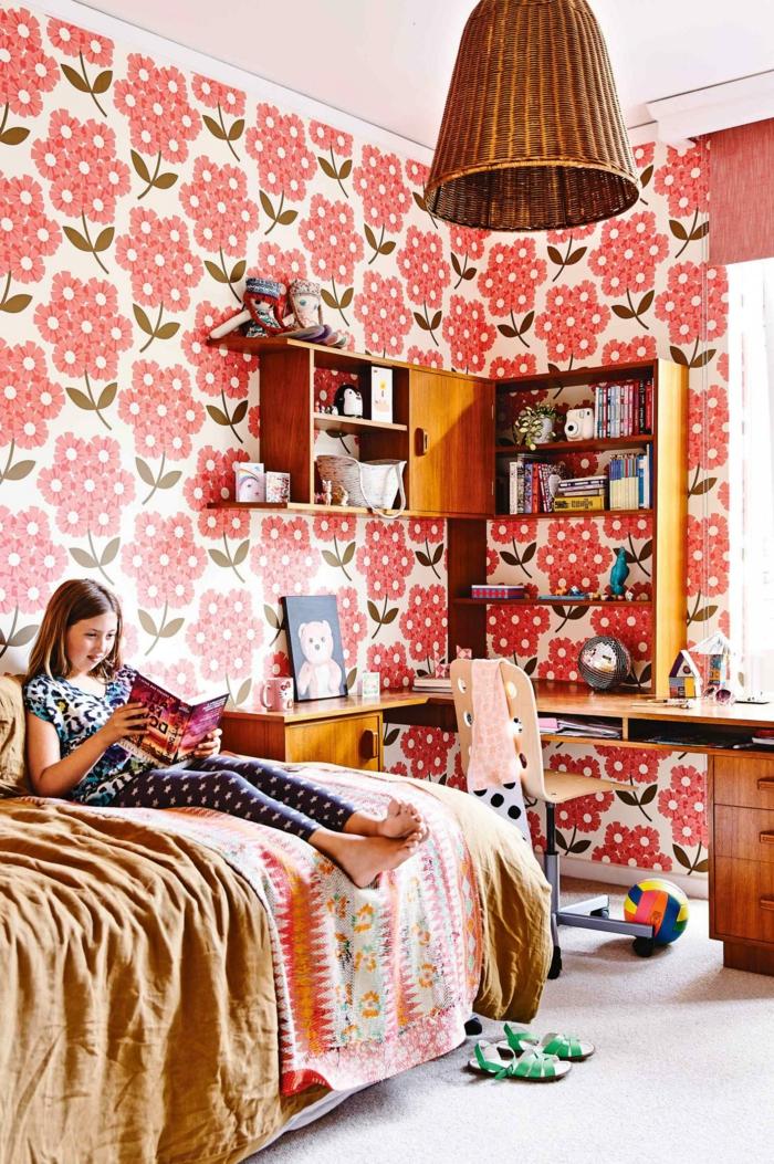 Kinderzimmer Einrichten Tapete : 50 Vintage Tapete Ideen, die dem Raum einen unvergleichbaren Charme
