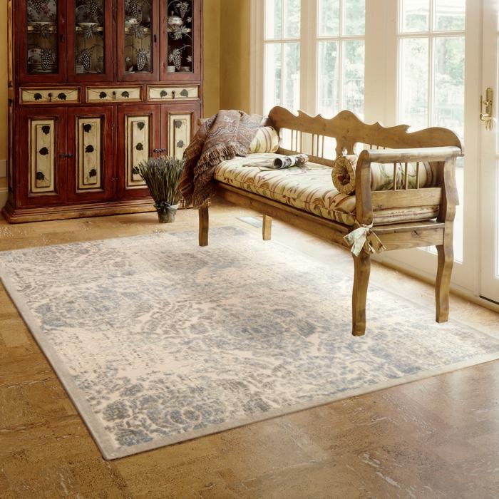 vintage teppiche wohnzimmer einrichten sofa