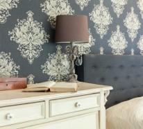 vintage einrichtung ein ausgewogener mix aus klassik und moderne - Moderne Tapeten Schlafzimmer