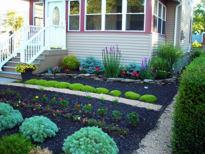 Vorgarten mit Pflanzen gestalten - 40 Ideen, wie Sie ein frisches ...