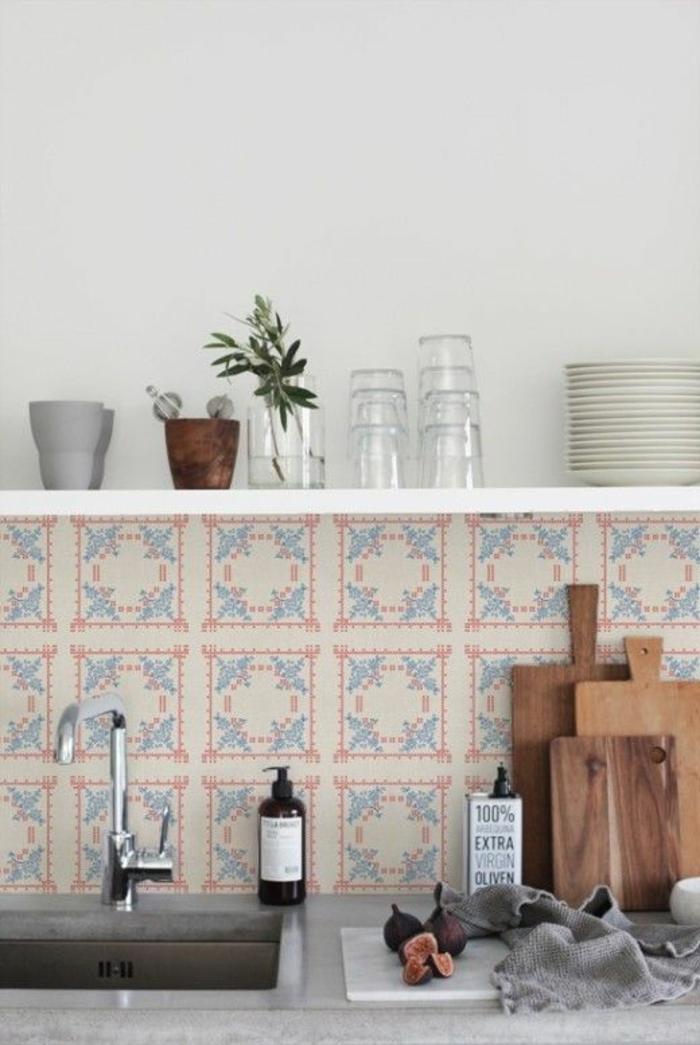offenes wohnzimmer gestalten:wandregal gestalten : Wandgestaltung im ...