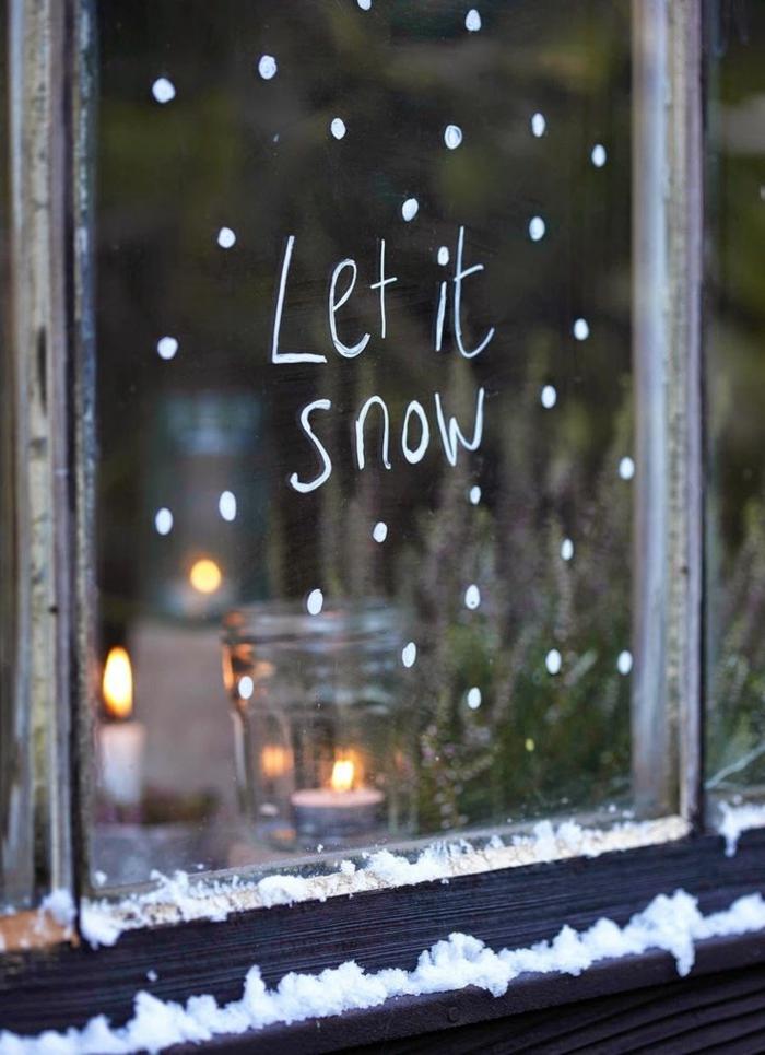 weihnachtliche bastelideen dekoideen fensterdeko schöne wohnideen
