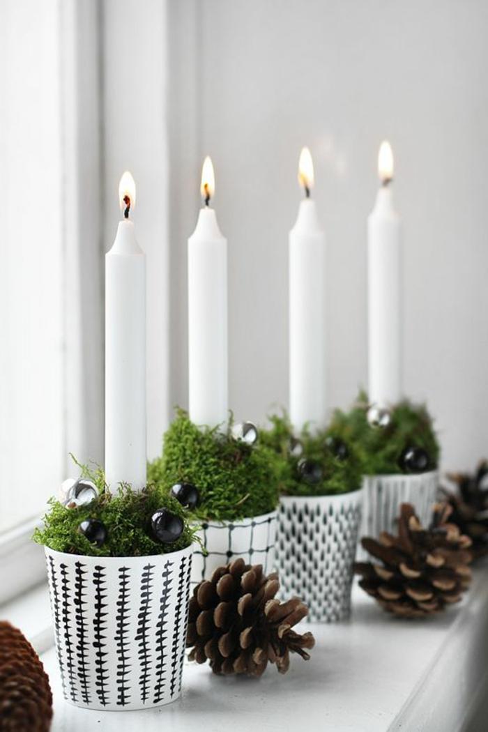 Weihnachtliche bastelideen wie sie ihr zuhause f rs - Dekokette fenster ...