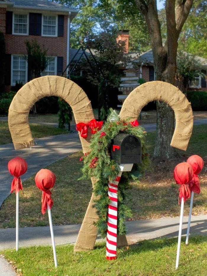 weihnachtsdeko für außen festliche stimmung weihnachten