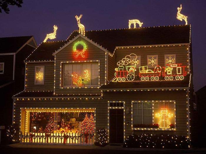 weihnachtsdeko für außen lichteffekte ausgefallene gartendeko weihnachten